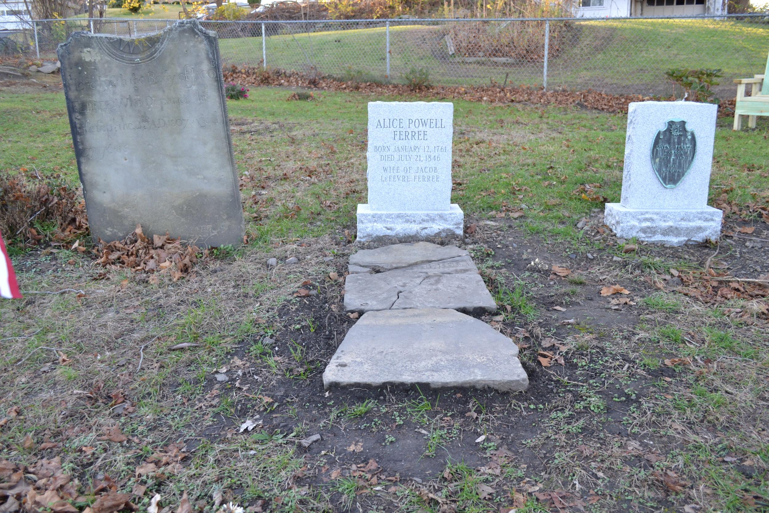 Ferree Cemetery in Coraopolis, PA
