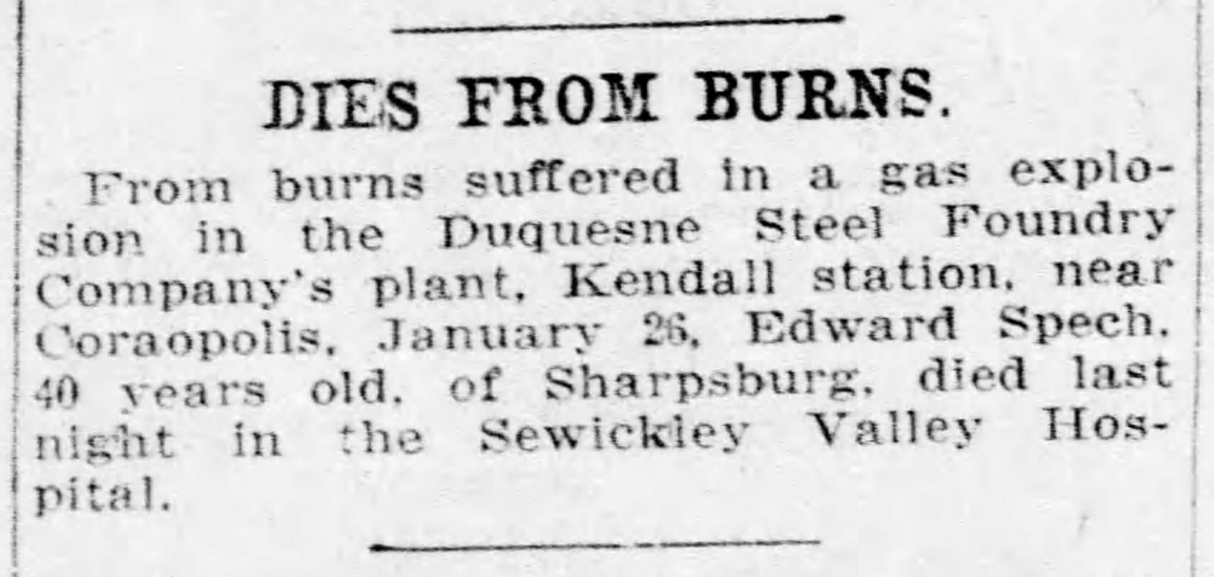 Pittsburgh Daily Post, February 4, 1917