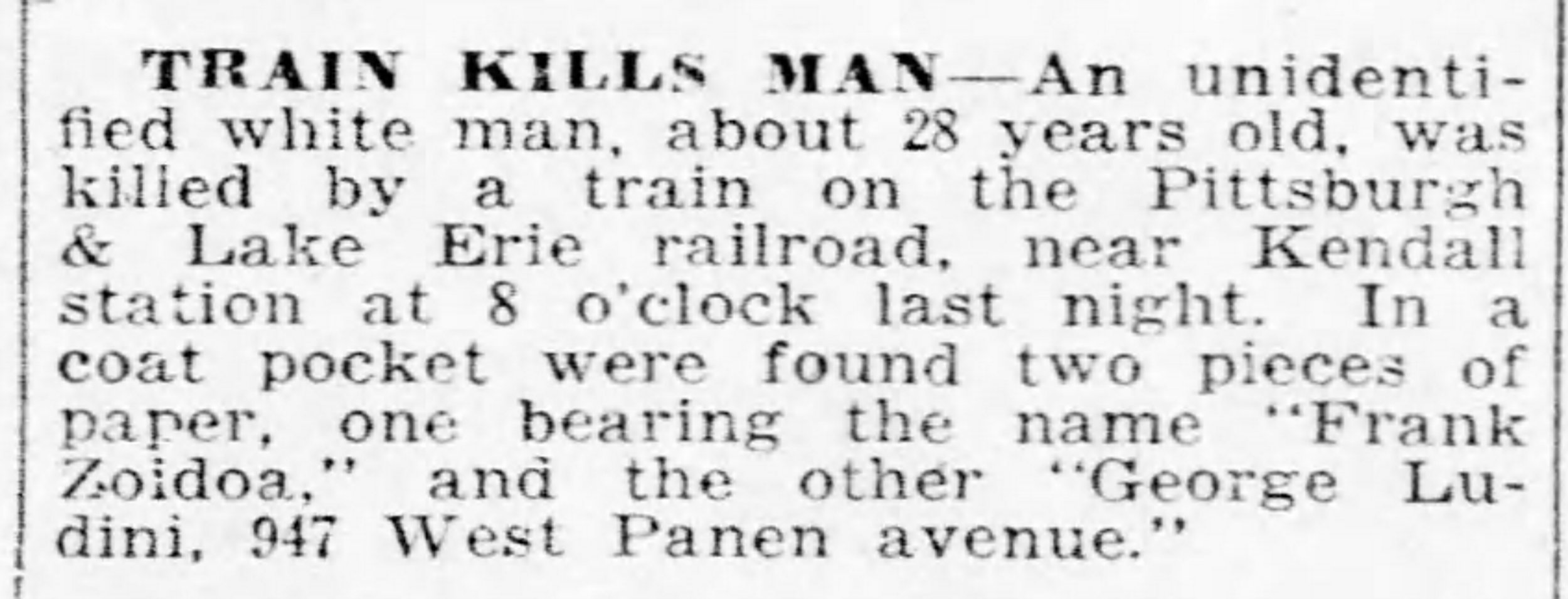 Pittsburgh Daily Post, July 7, 1917