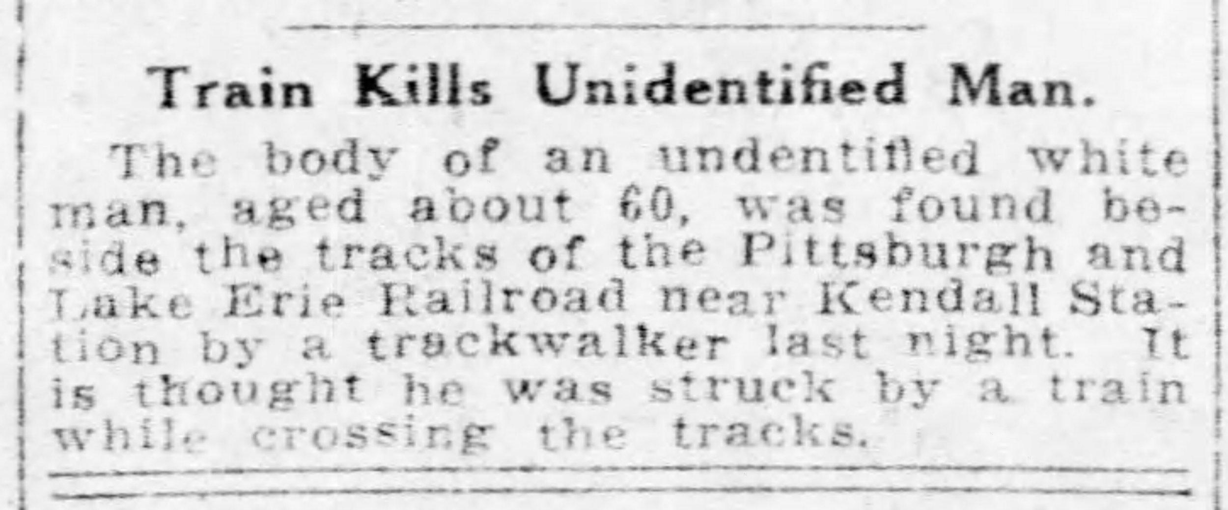 Pittsburgh Post Gazette, August 20, 1918