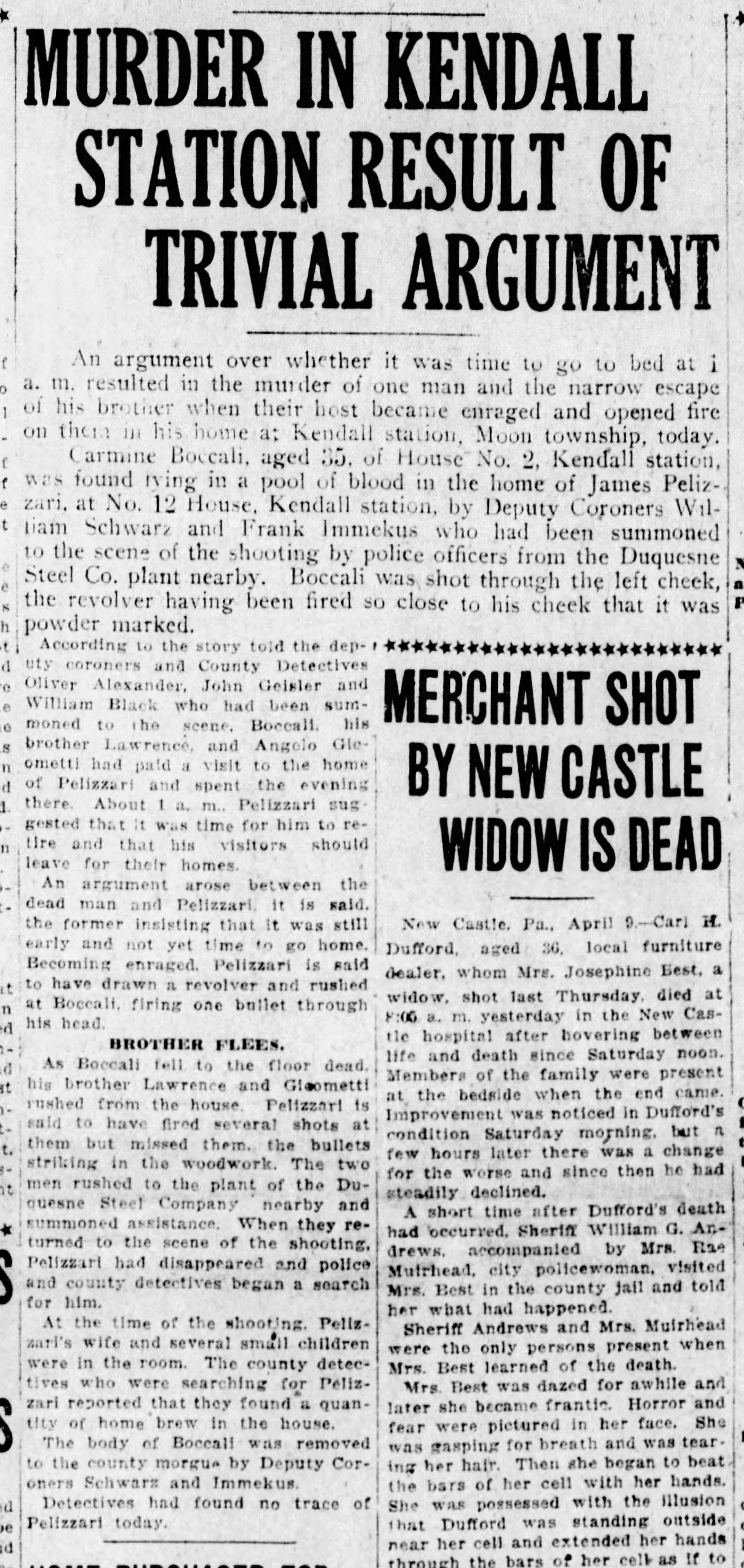 The Pittsburgh Press, April 9, 1923