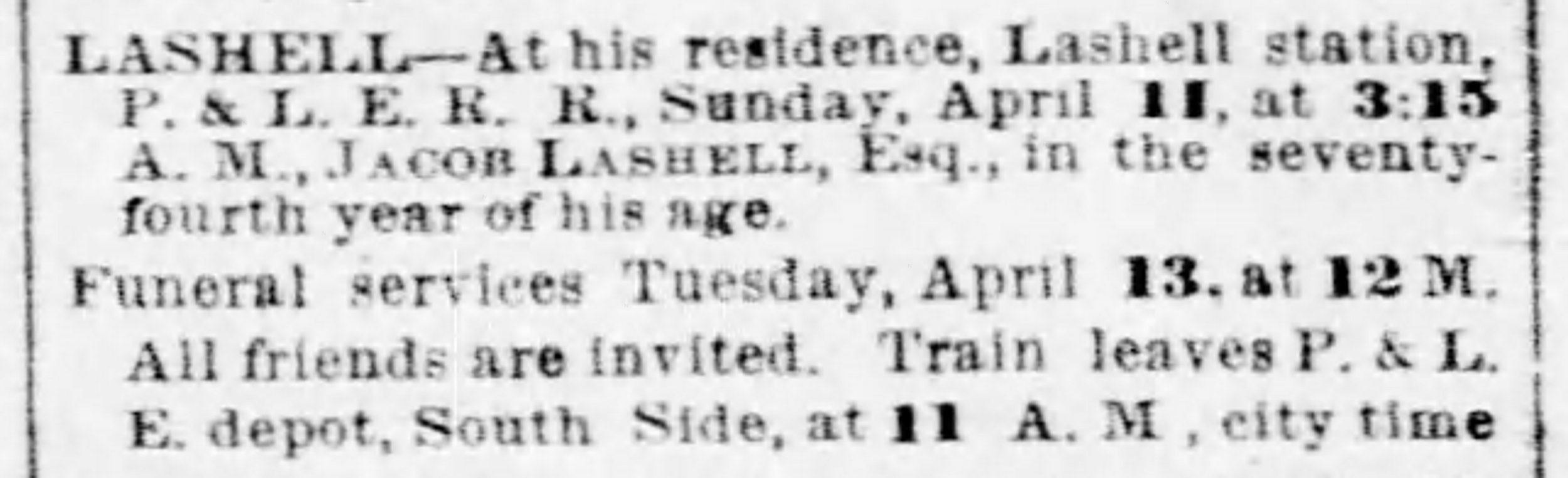 Pittsburgh Daily Post, April 13, 1886