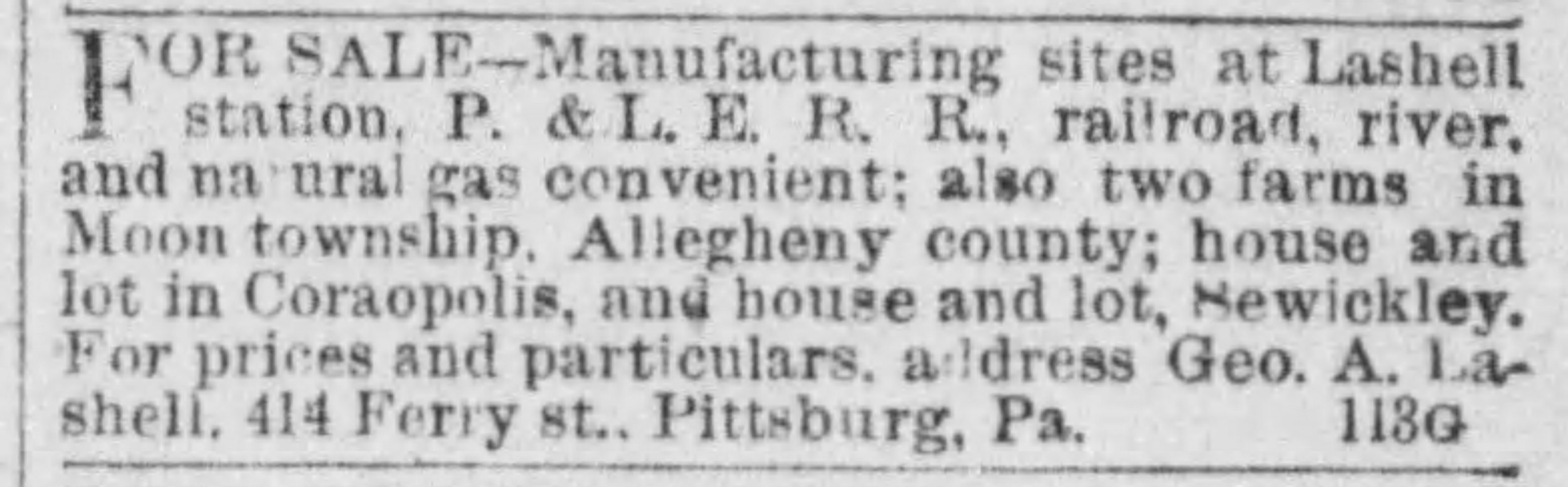 The Pittsburgh Press, January 19, 1888