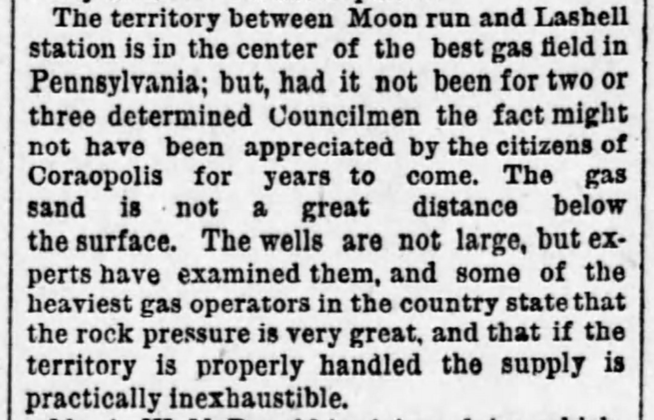 Pittsburgh Dispatch, January 5, 1889