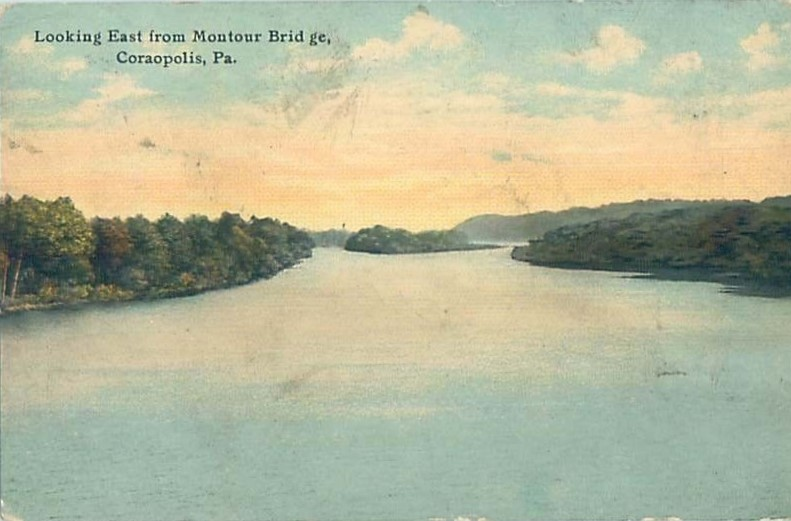 1915 Looking East from Montour Bridge.jpg