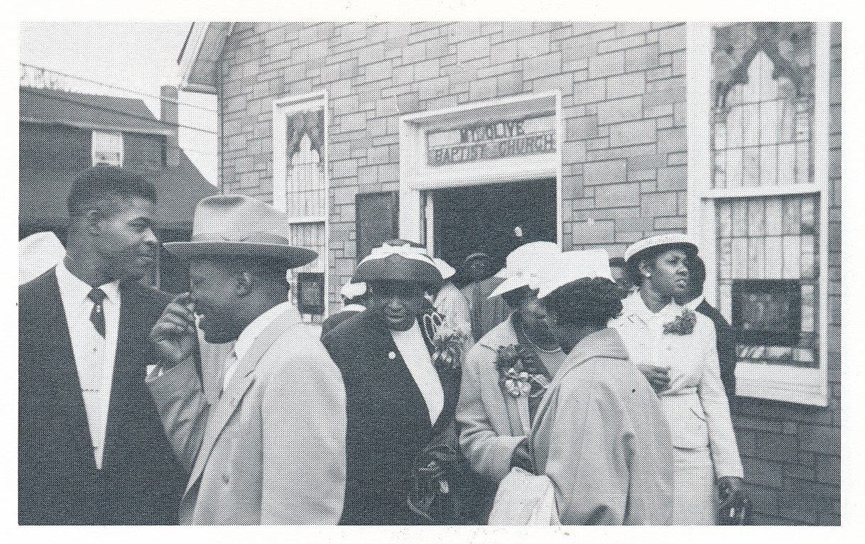 Mt Olive Baptist Church, School St at Hiland Ave.jpg