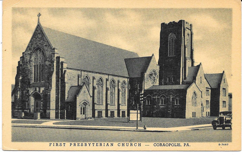 1947, First Presbyterian Church
