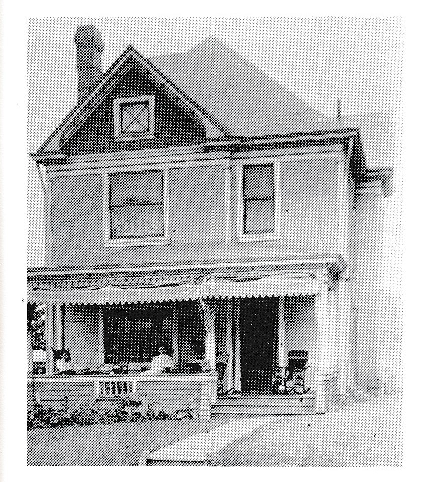 Edward and Stella McKown's home on Montour St  (Note: The  1910 US Census  indicates that Edward and Estella McKown resided at  615 Montour St.  Edward works as a self-employed contractor/builder and owns the home.)