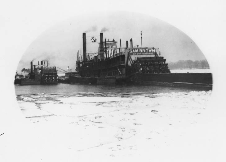 The  Sam Brown  Riverboat, 1910