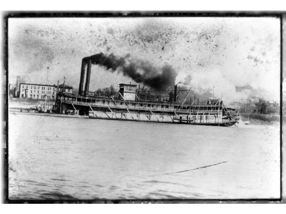 The  Charles Brown  Riverboat