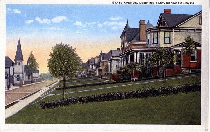State Avenue, Looking East, 1918.jpg