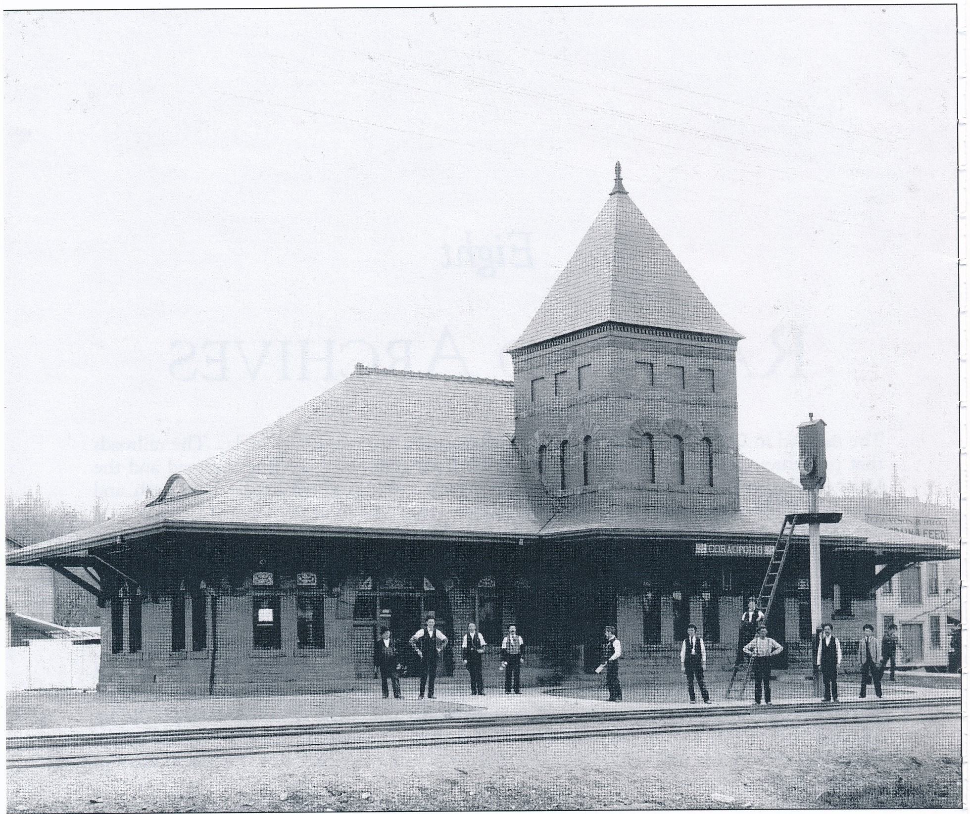1890s Coraopolis Passenger Train Station - PLERR - late 1800s.jpg