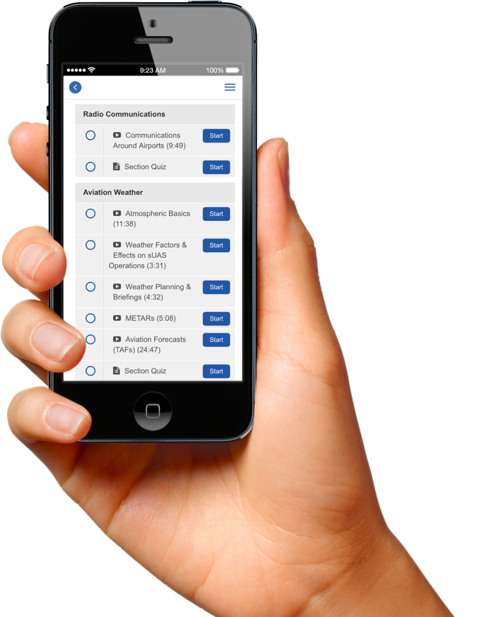 Phone & Tablet Compatible - Access your course while on the go or when away from your laptop. Interface is easy to use and consistent on every device.