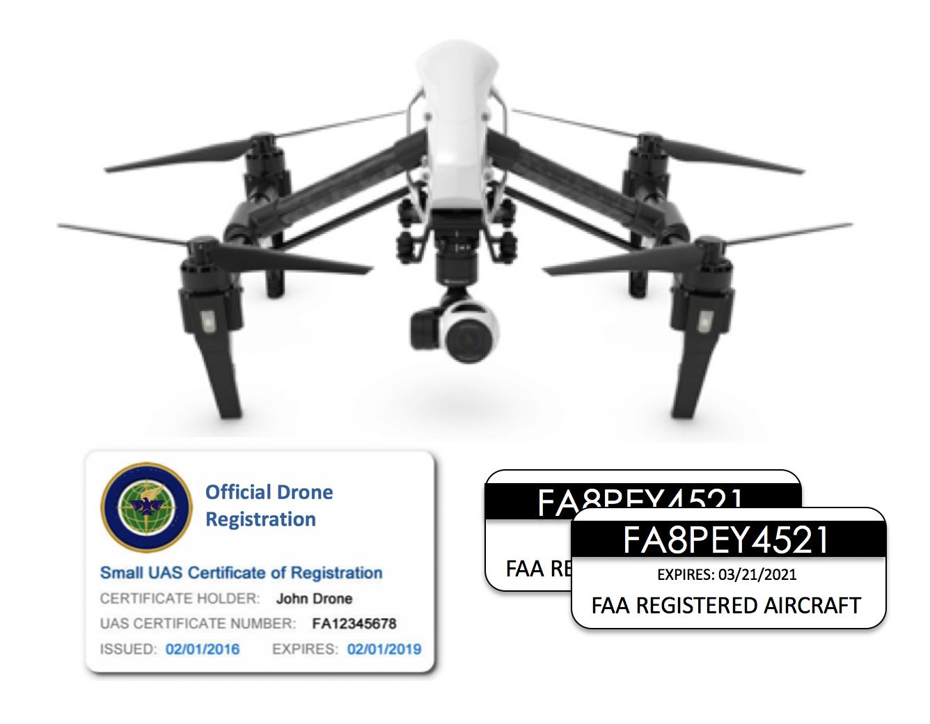 Drone Registration + ID Card