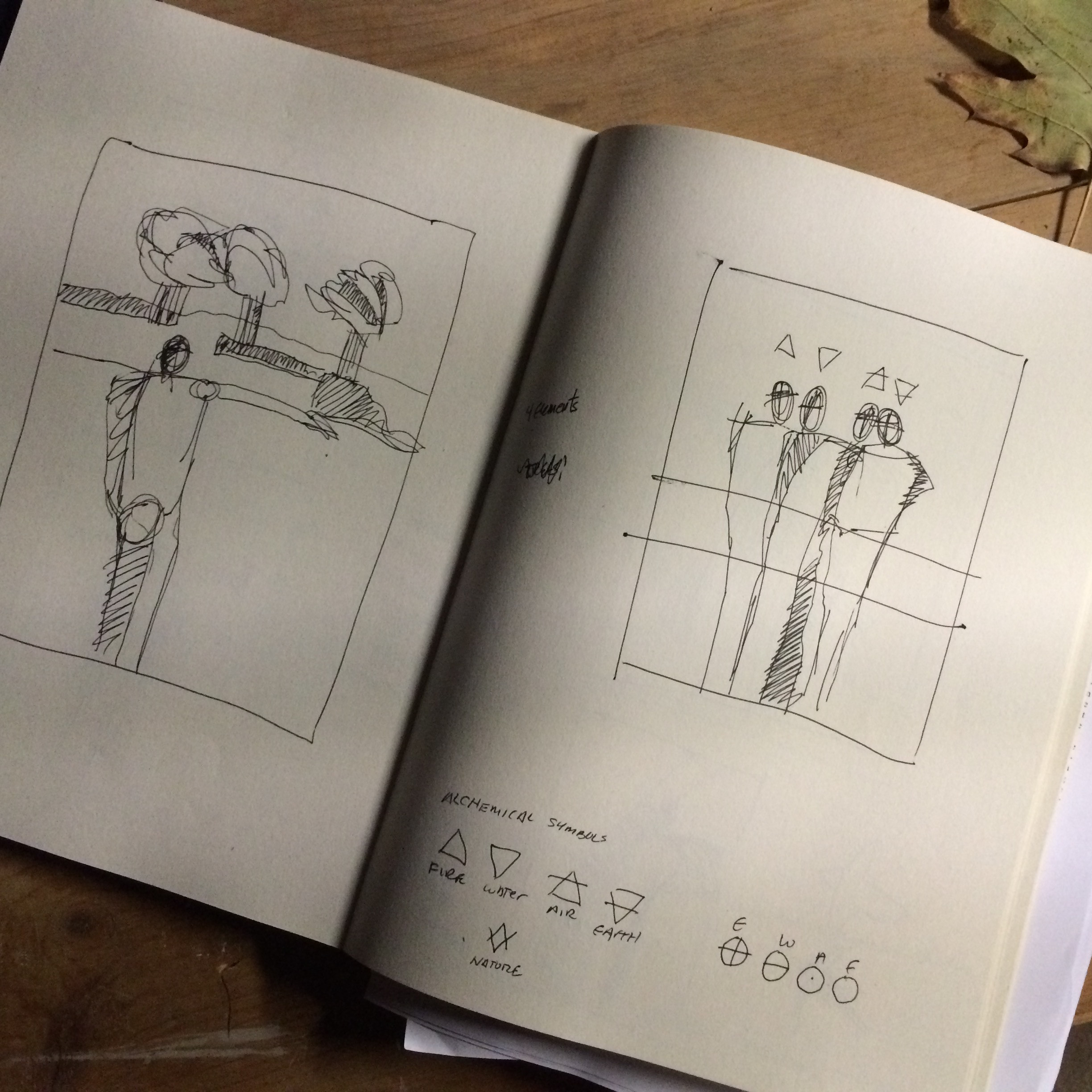 Sketches from the book