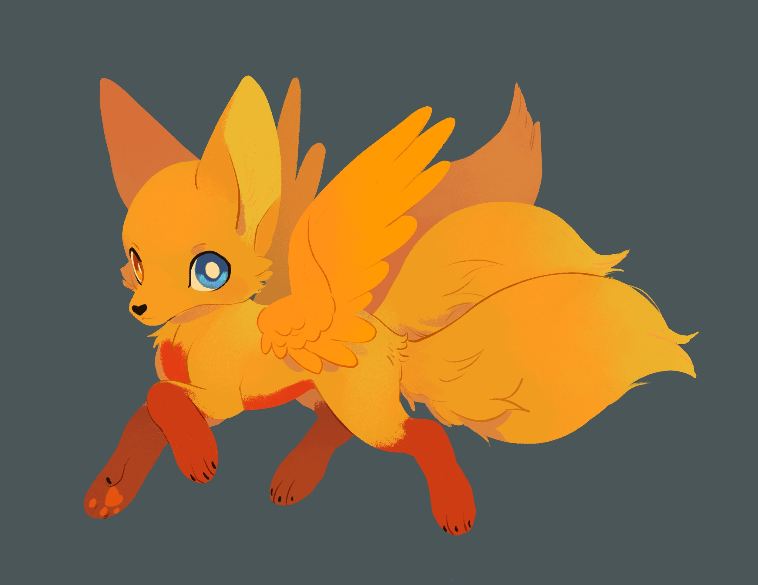 Many thanks to  Katie O'Neill  for the illustration of Zora, Misti's companion animal.