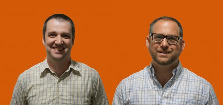 Open Data community hub hosts, Ben and Michael!