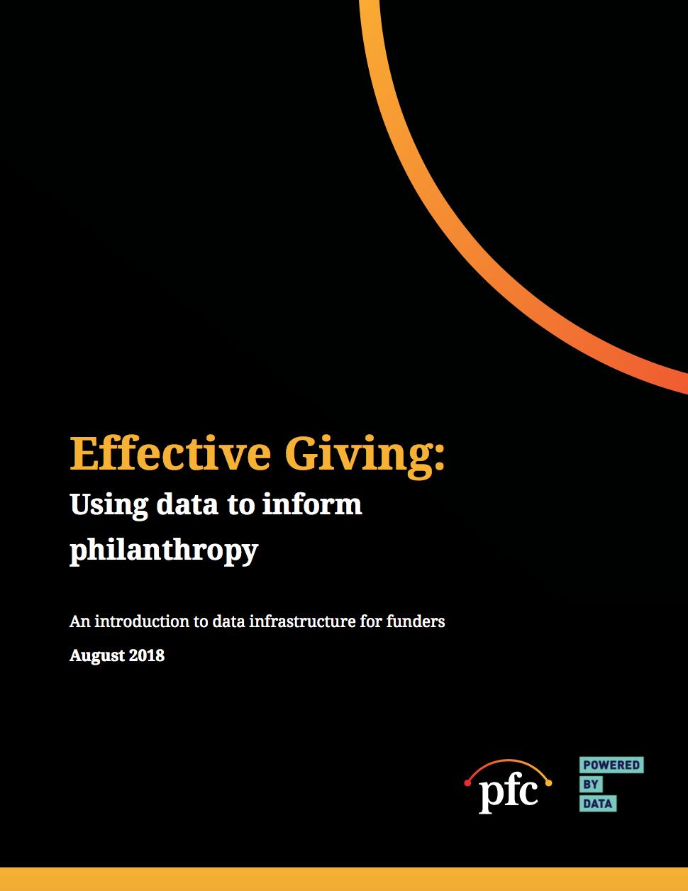 PFC Data Grantmaking Cover