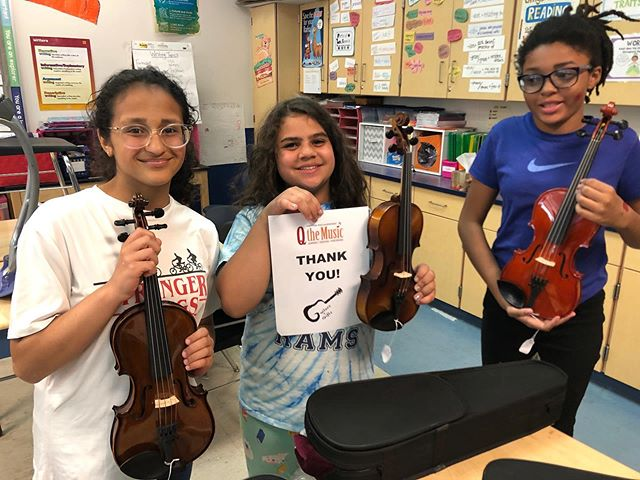 This year, we have been able to provide over 50 musical instruments across 20 states. We have been overwhelmed by the support we have received as we slowly reach our goals of providing 100 instruments by the end of the year. It is amazing what can be accomplished when we work together and support other non-profit programs!  We recently provided a couple violins and violas to the Dayton Performing Arts Alliance. We are so excited to be able to help music programs get the tools they need.  #motivationalmonday #womenfounders #femalefounders #discoverunder1k #inspirationalthoughts #guitars4gifts