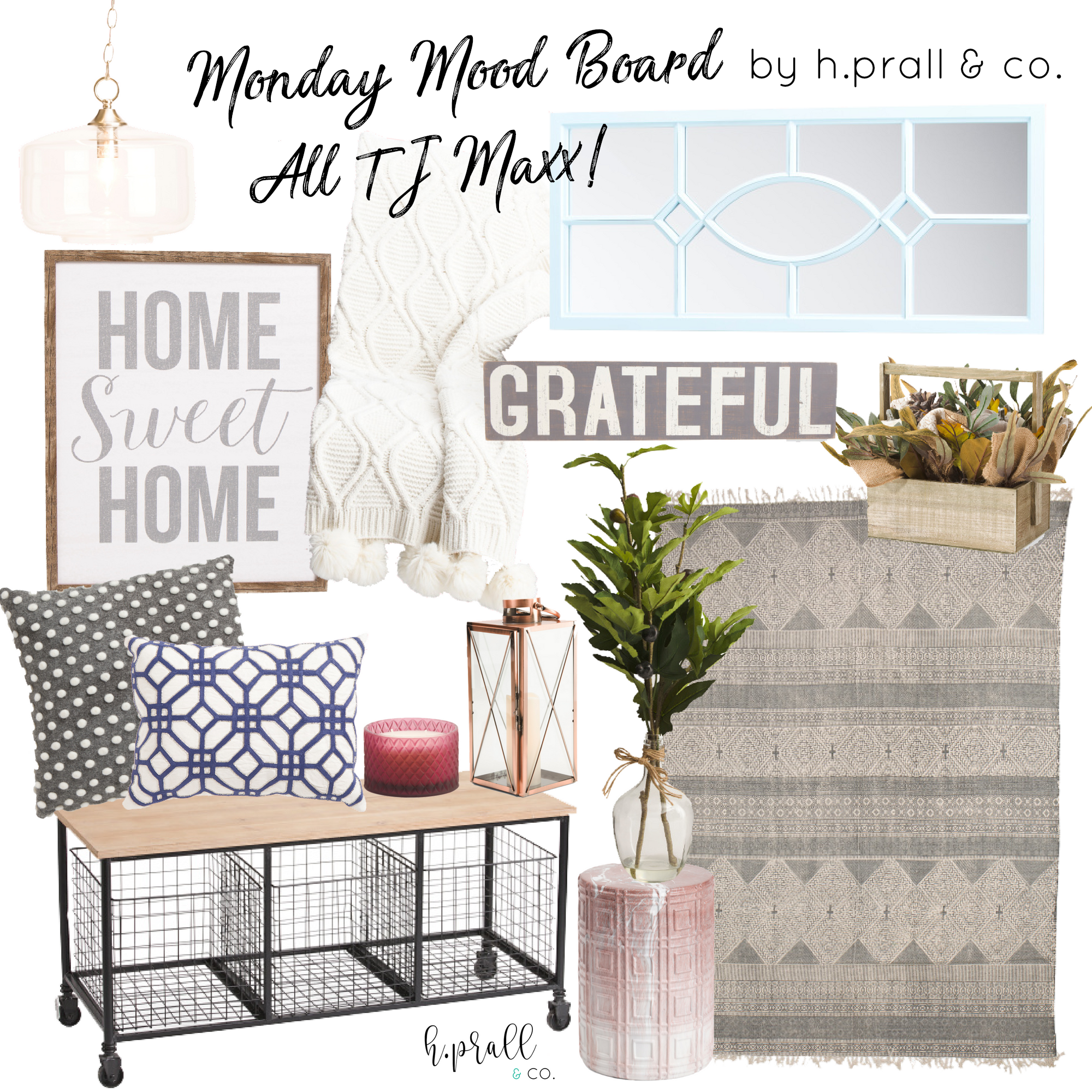 Entryway Mood Board design by  H.Prall & Co.
