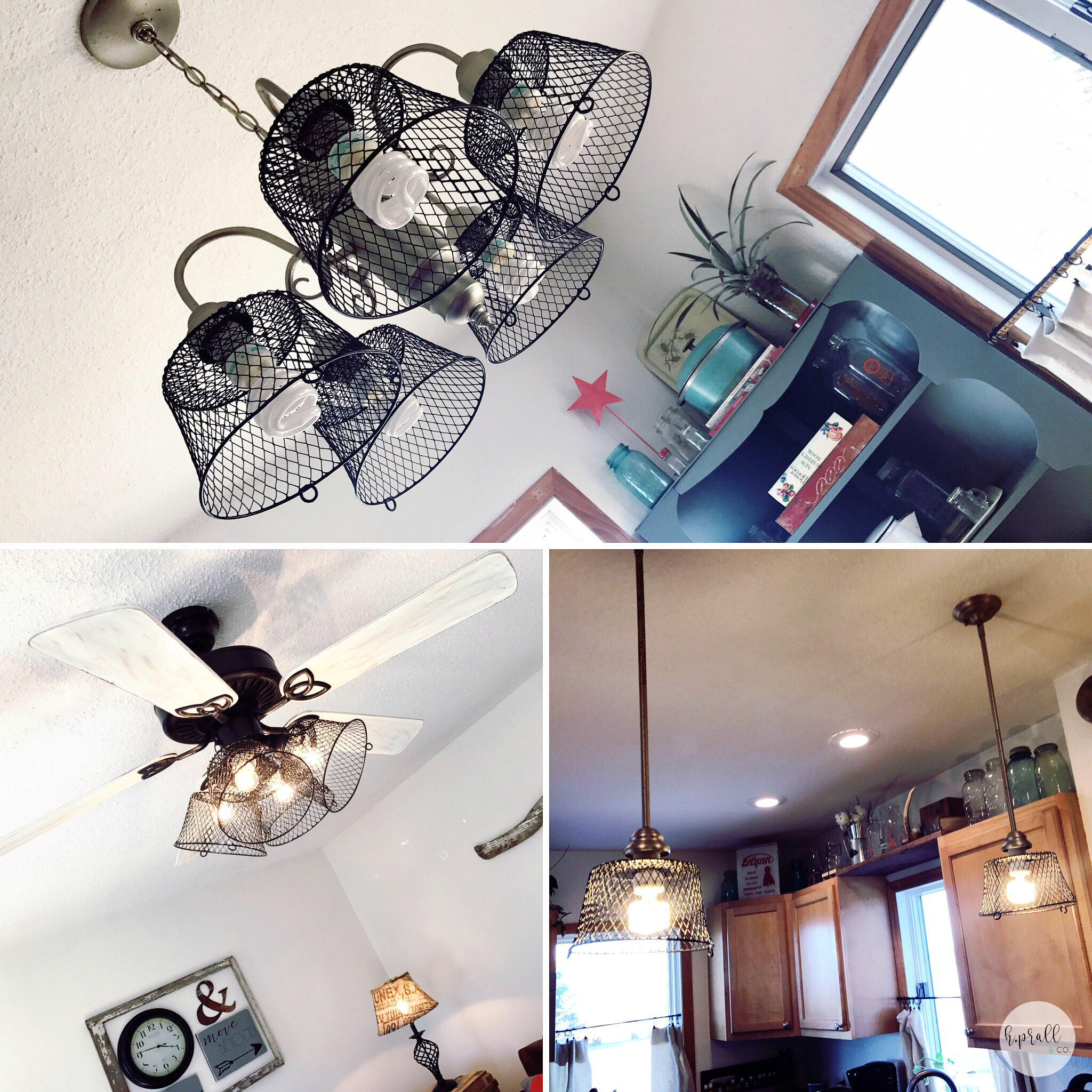 DIY light fixture cover ideas from H.Prall & Co.