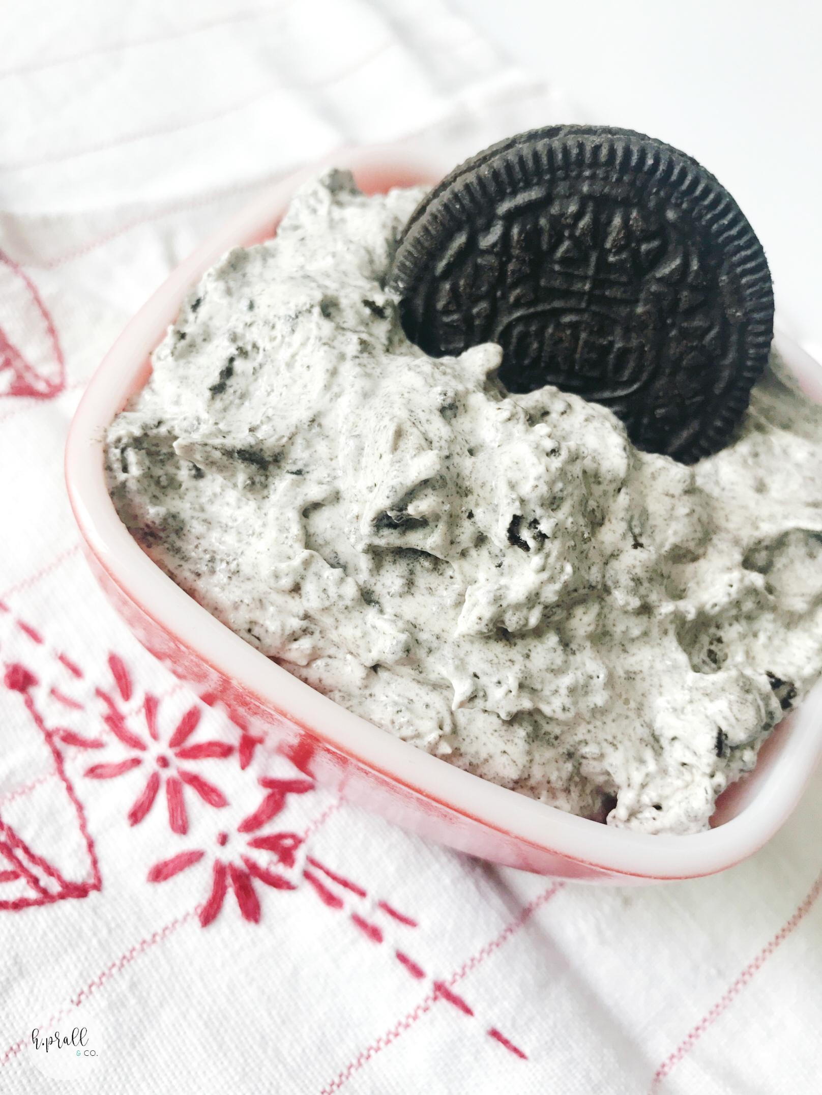 Oreo Fluff Recipe via H.Prall & Co. | hprallandco.com