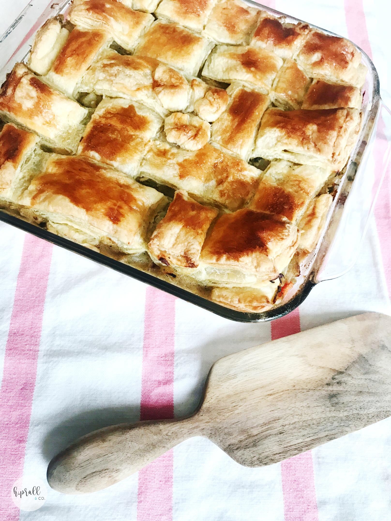 Turkey Pot Pie Recipe from H.Prall & Co.
