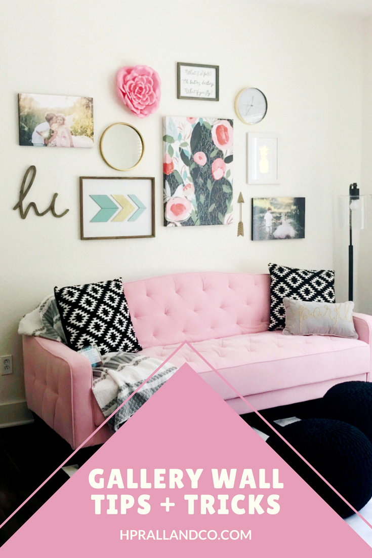 Gallery Wall Tips + Tricks from H.Prall & Co. Interior Decorating