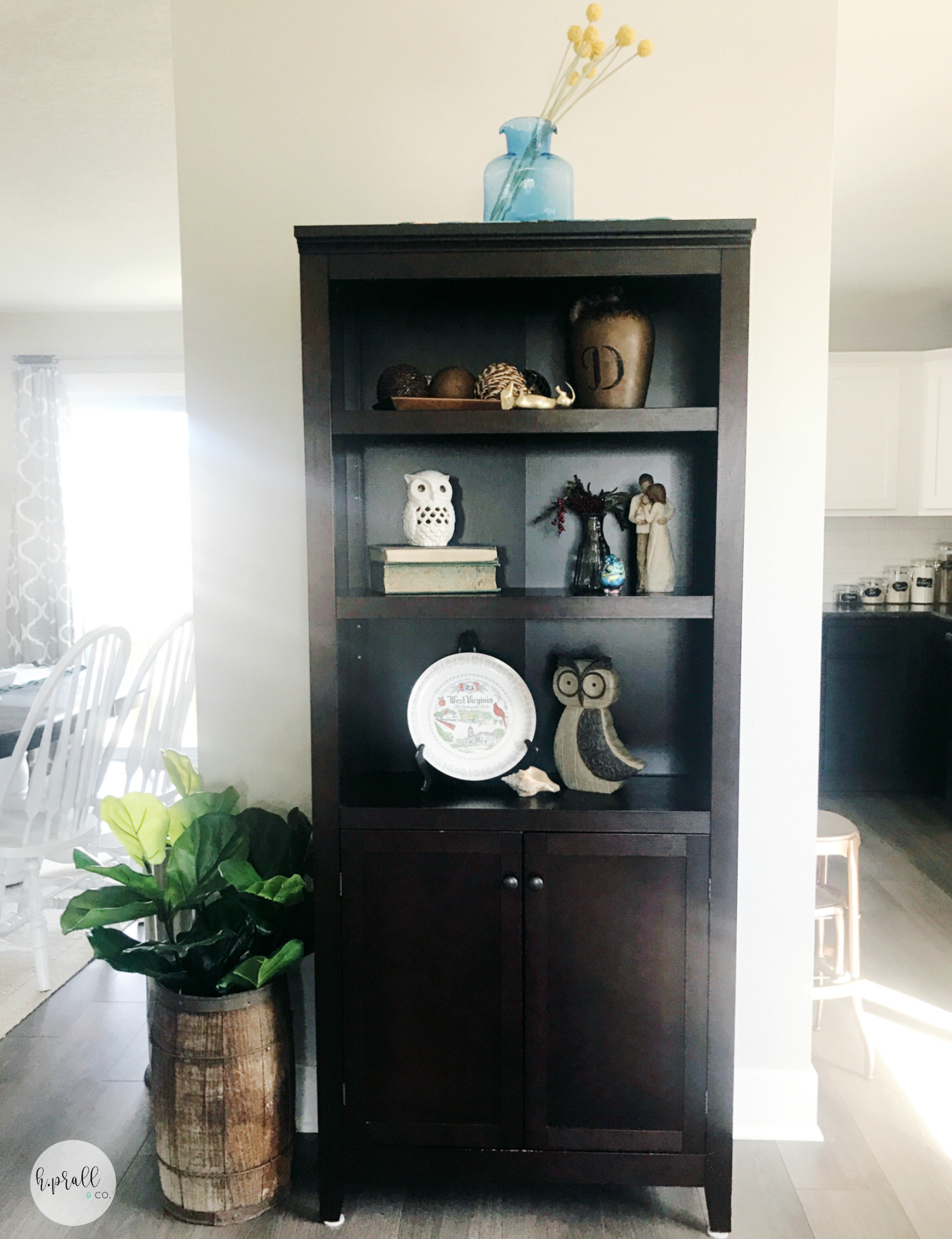 Shelf Styling by H.Prall & Co. | hprallandco.com