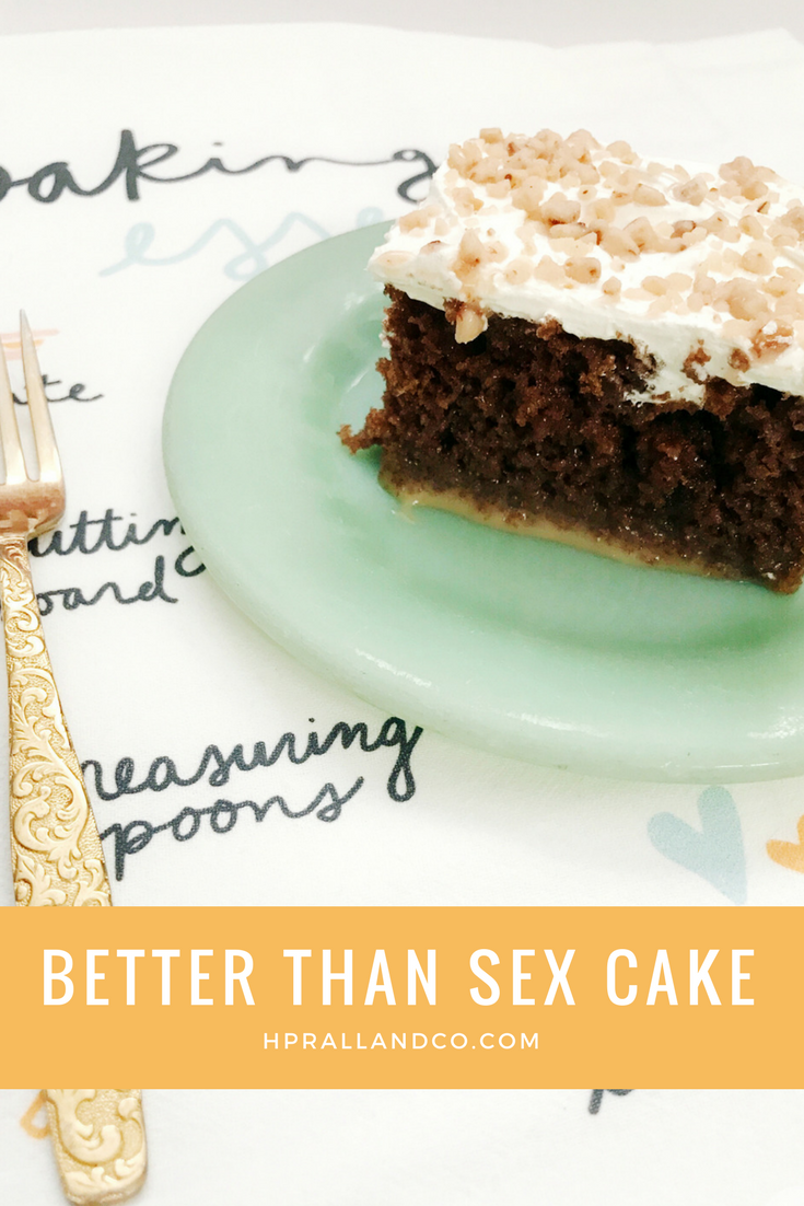 Better Than Sex Cake Recipe from H.Prall & Co. | hprallandco.com Interior Decorating in Des Moines, IA
