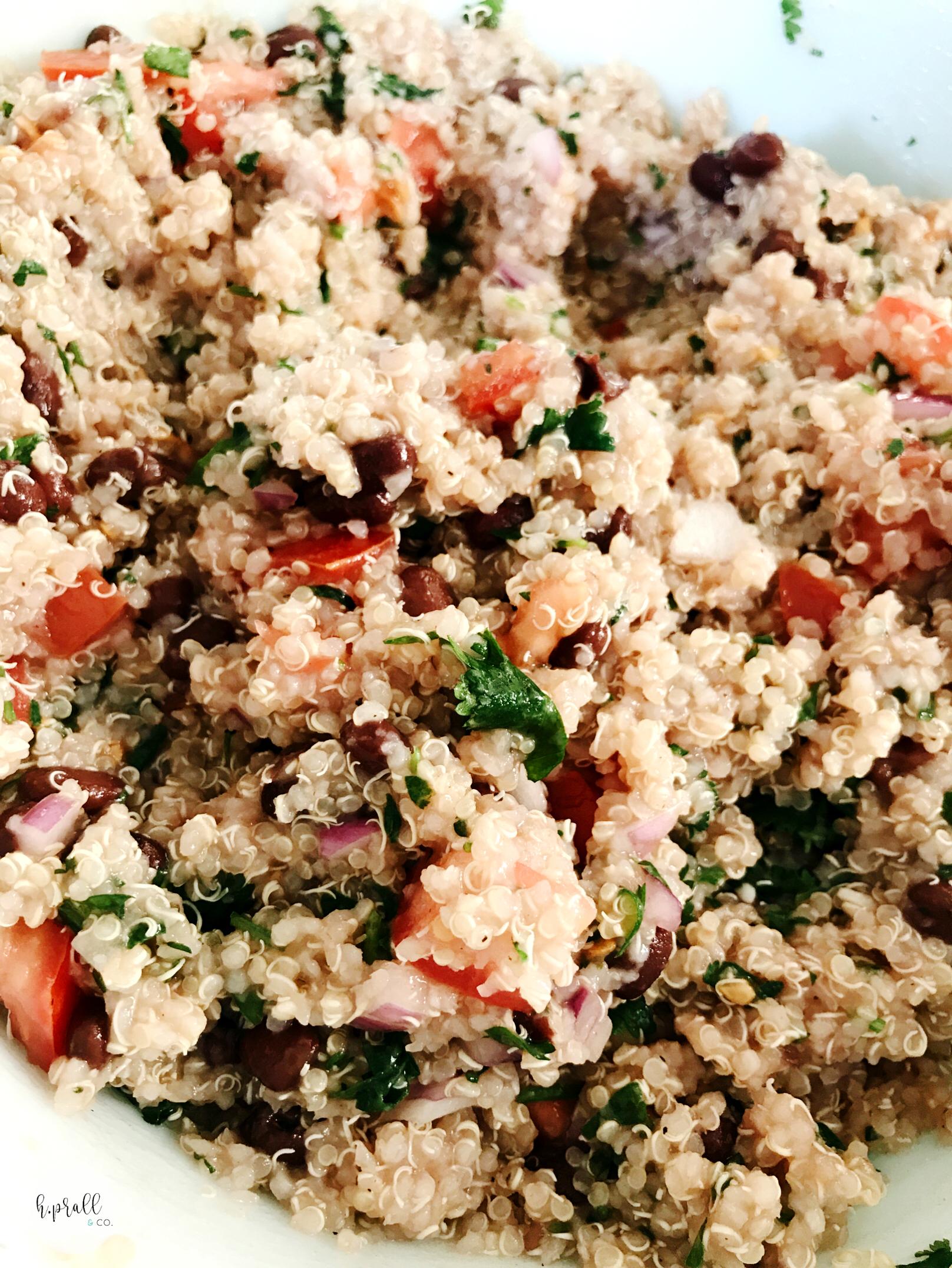 Southwest Quinoa Salad Recipe from H.Prall & Co.   hprallandco.com