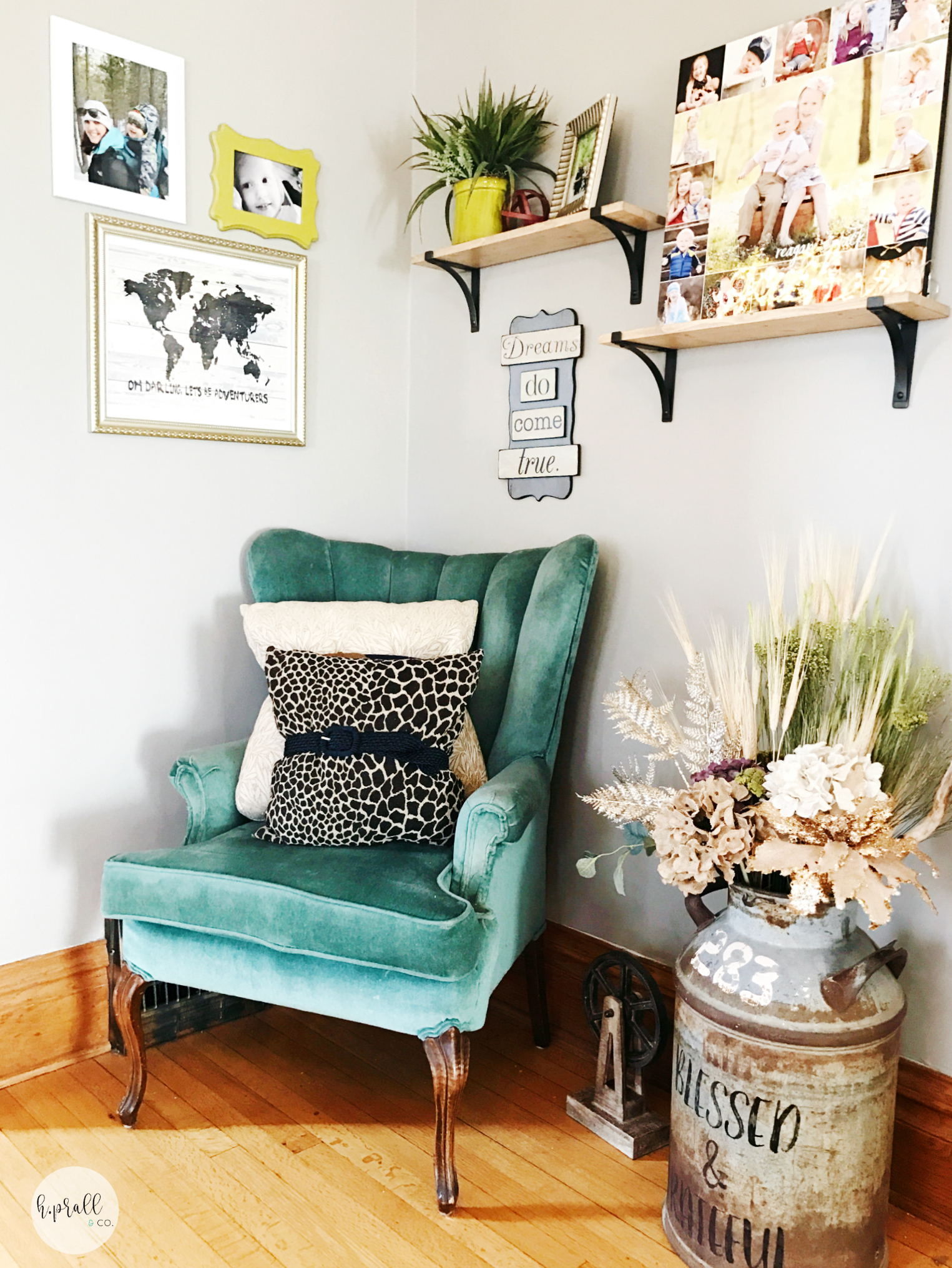 Dress-up your throw pillows with belts! Find out more at hprallandco.com