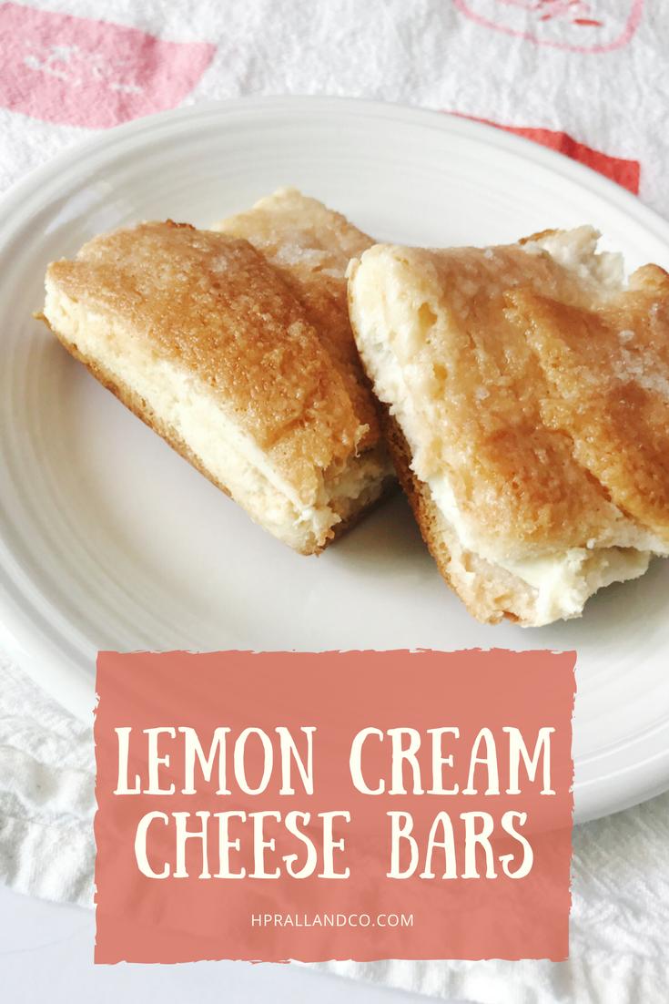 Lemon Cream Cheese Bar Recipe from H.Prall & Co.   hprallandco.com   Interior Decorating in Des Moines, IA