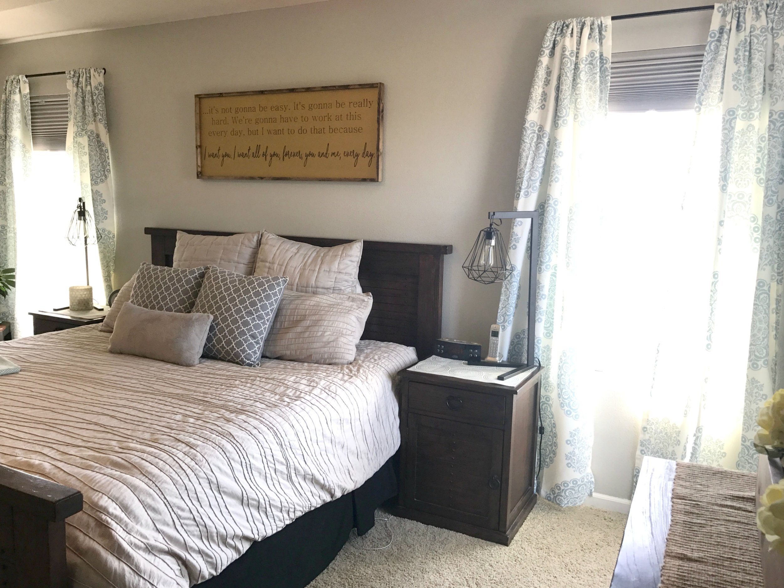 H.Prall & Co. Interior Decorating | Light and Bright Master Bedroom Makeover (AFTER) | hprallandco.com