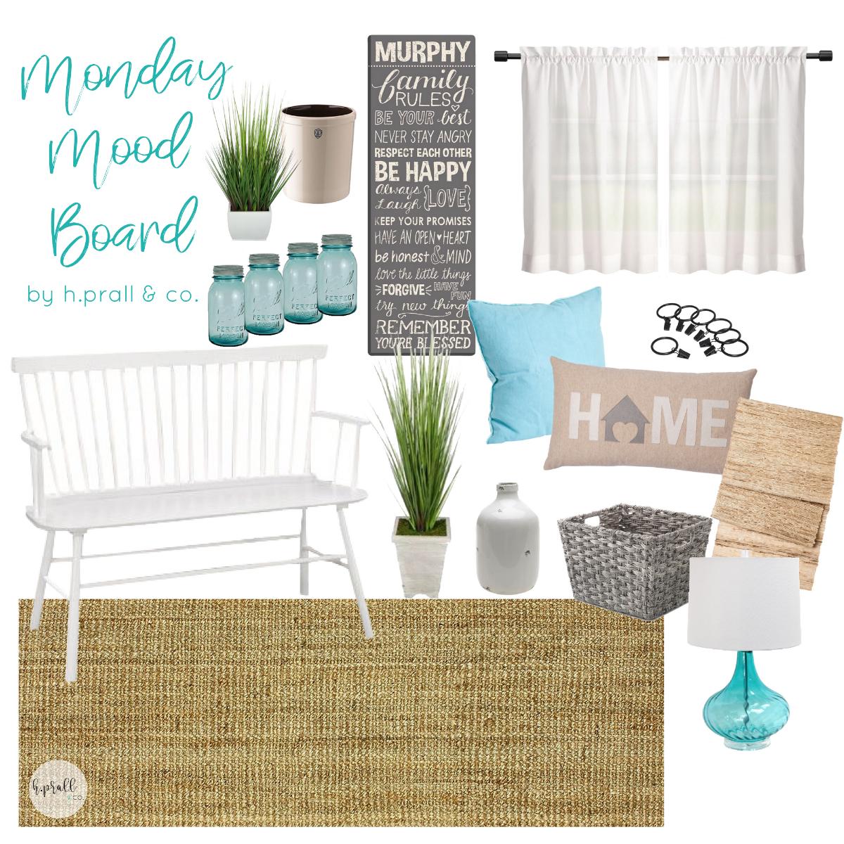 Monday Mood Board by H.Prall & Co. Interior Decorating | hprallandco.com