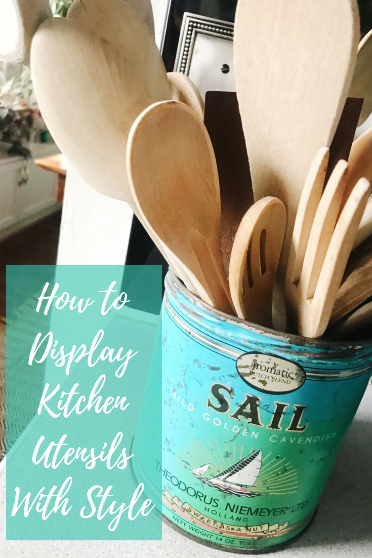 How to Display Kitchen Utensils With Style from H.Prall & Co. | hprallandco.com