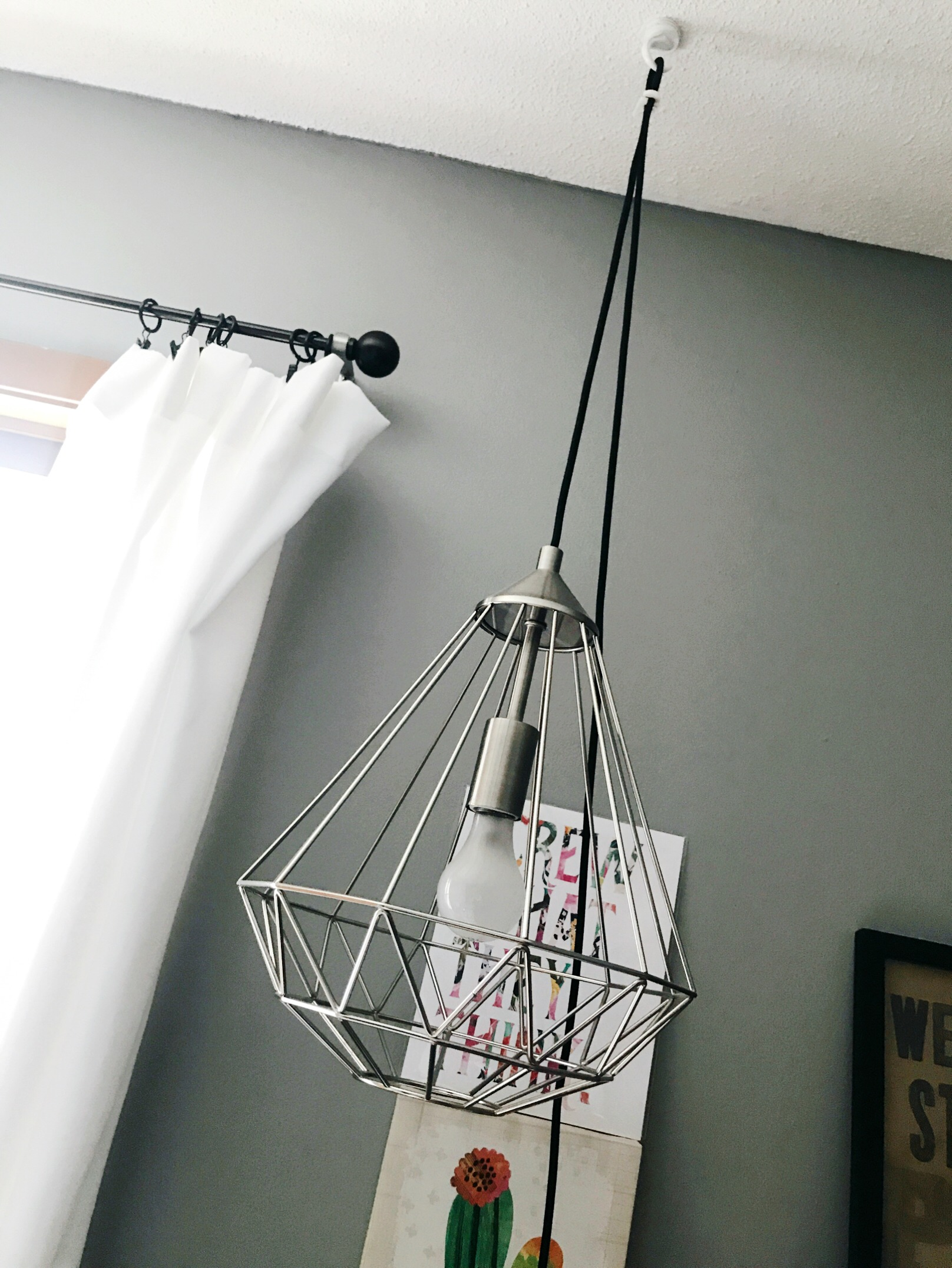 How to Save Space with a Pendant Light from hprallandco.com