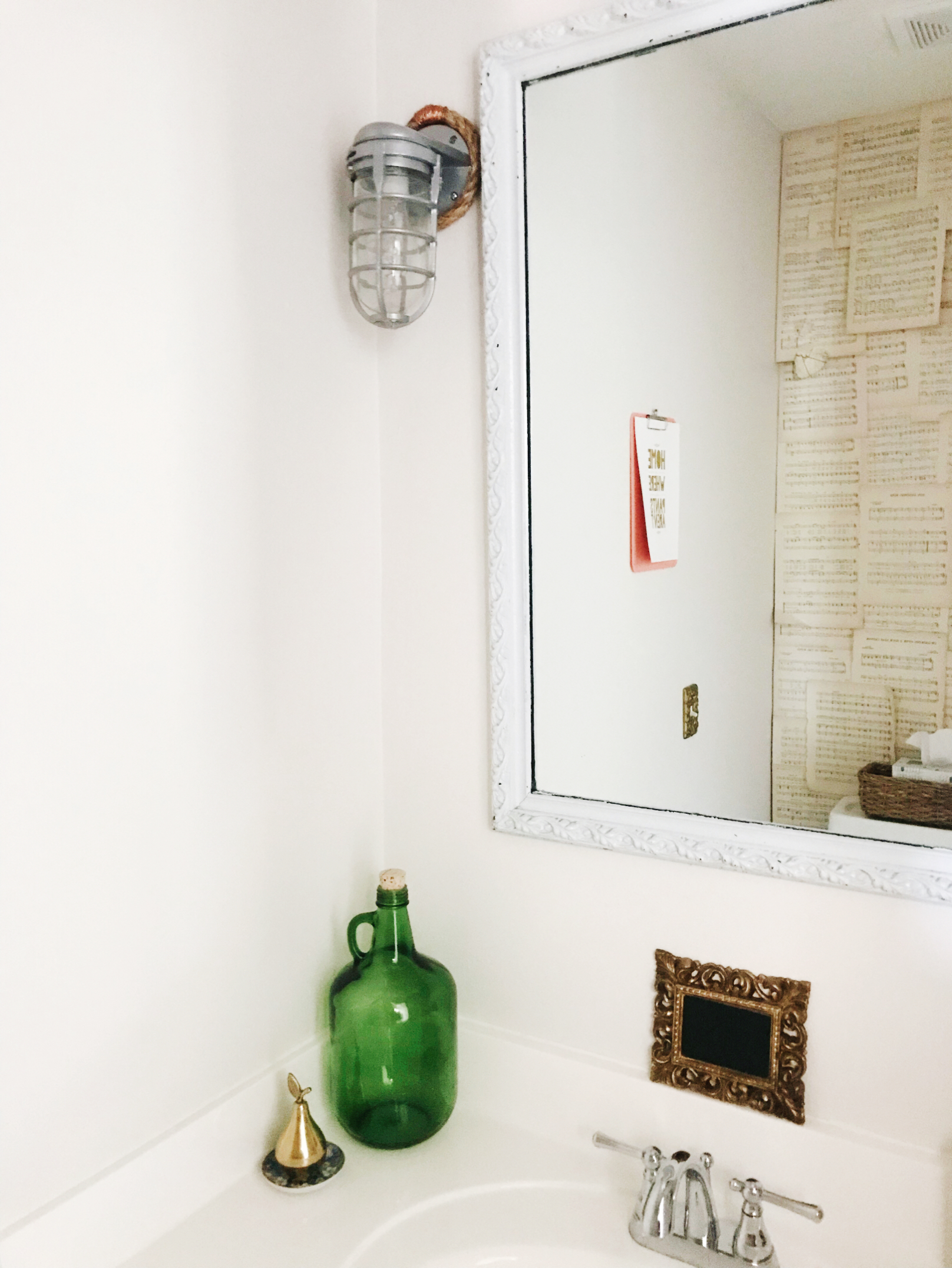 Best Basket for Back of Toilet from H.Prall & Co. | hprallandco.com
