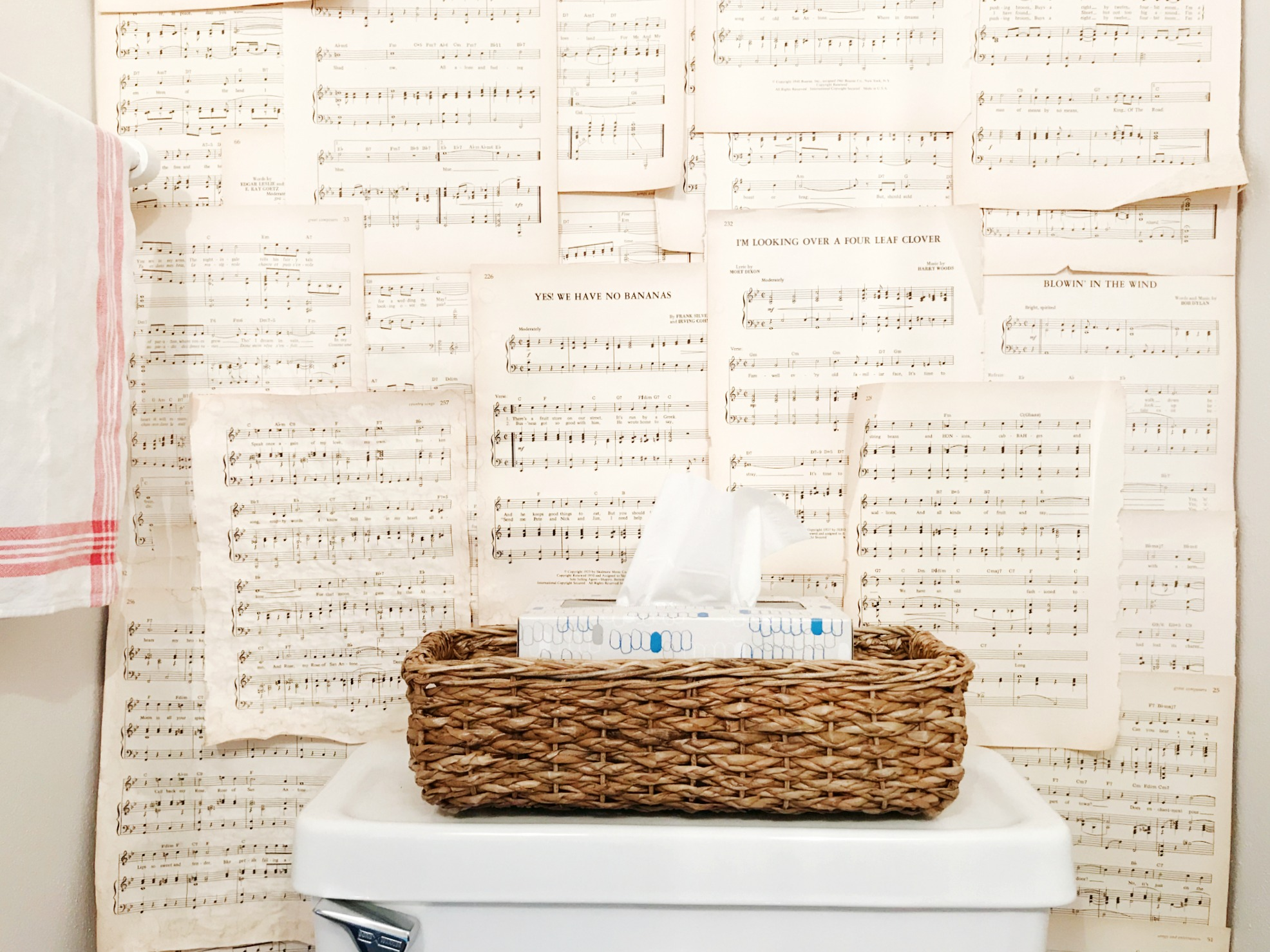 I'm sharing my favorite basket for the back of the toilet over at hprallandco.com | H.Prall & Co. Interior Decorating