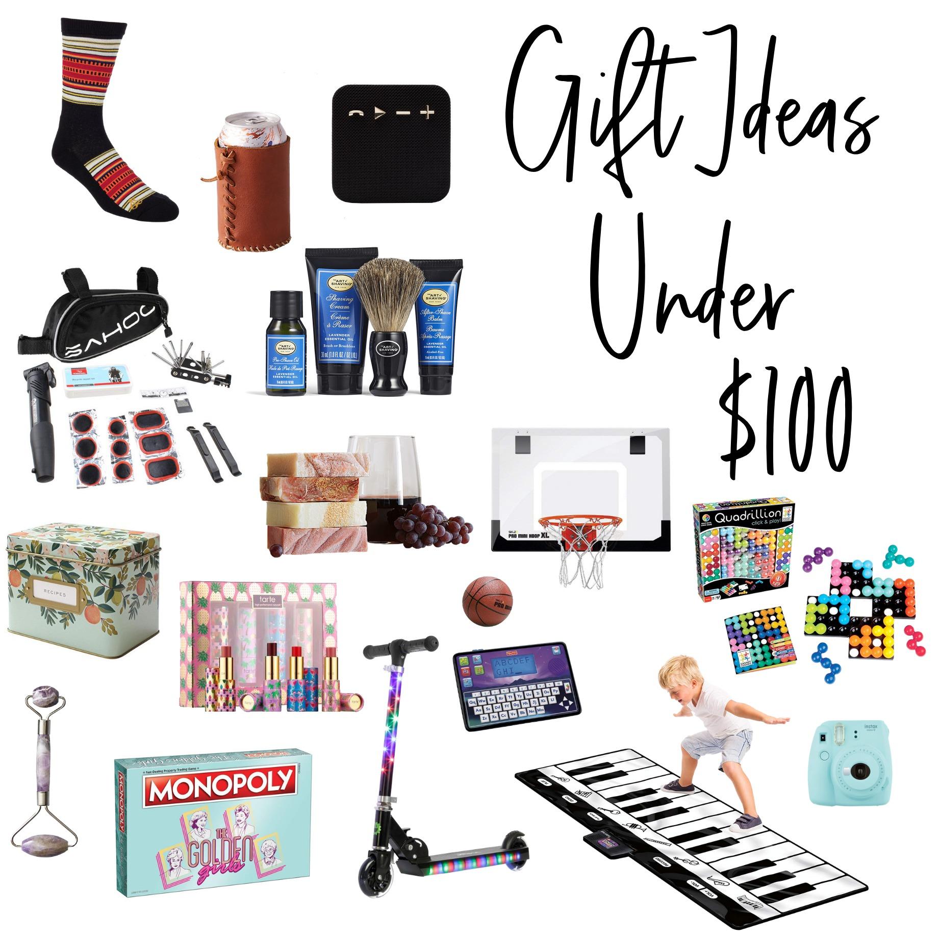 Gift Ideas under $100 | hprallandco.com
