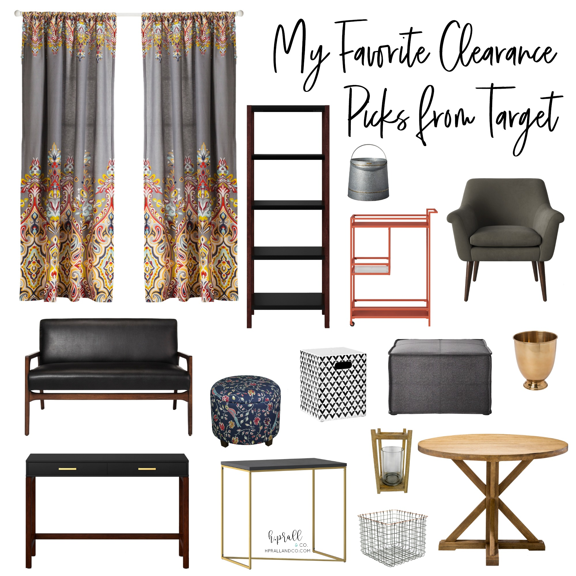 I'm sharing my favorite clearance picks from Target at hprallandco.com!