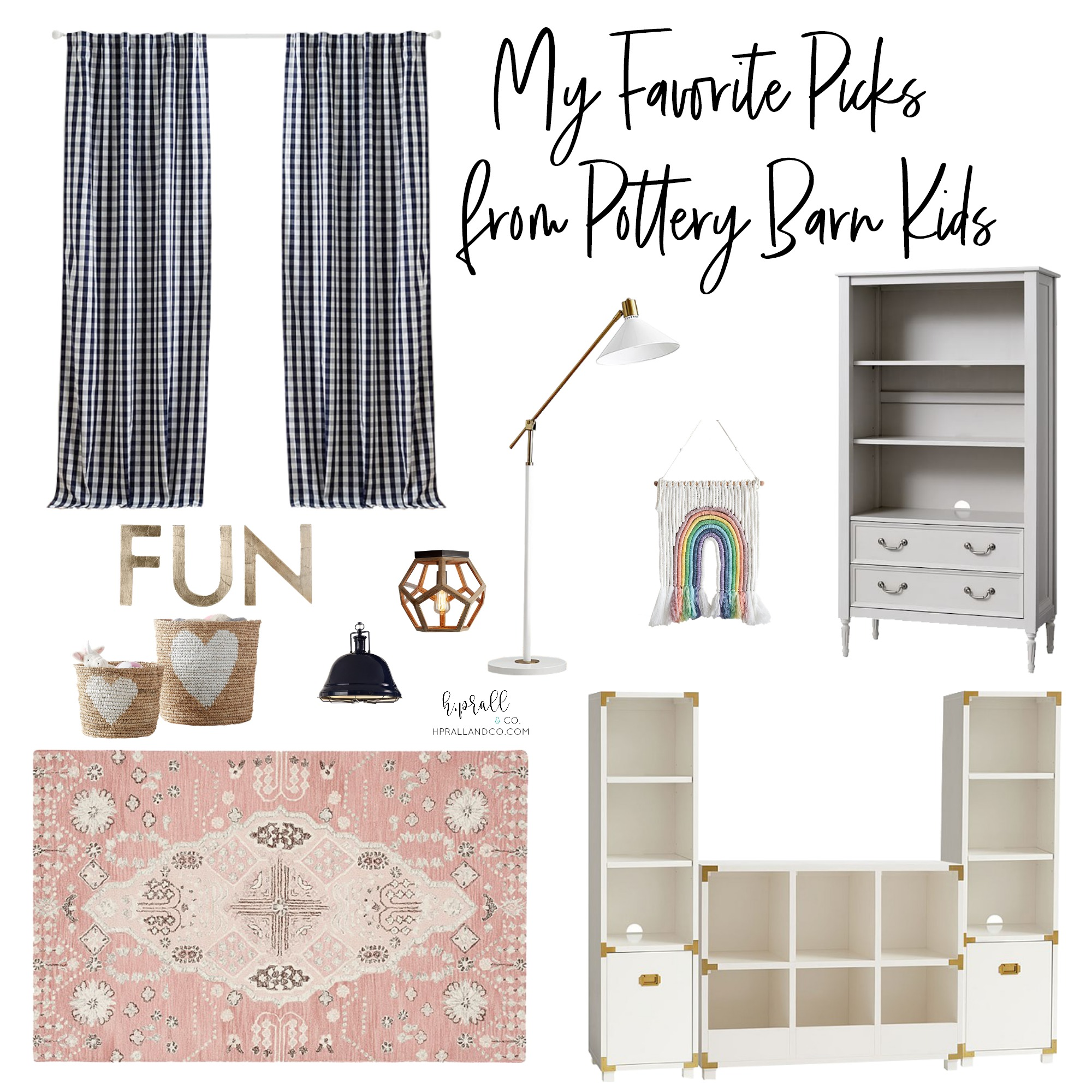 I'm sharing my favorite picks from Pottery Barn Kids at hprallandco.com!