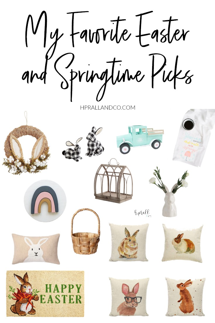 I'm sharing my favorite picks Easter and springtime picks over at hprallandco.com! | H.Prall and Co. Interior Decorating