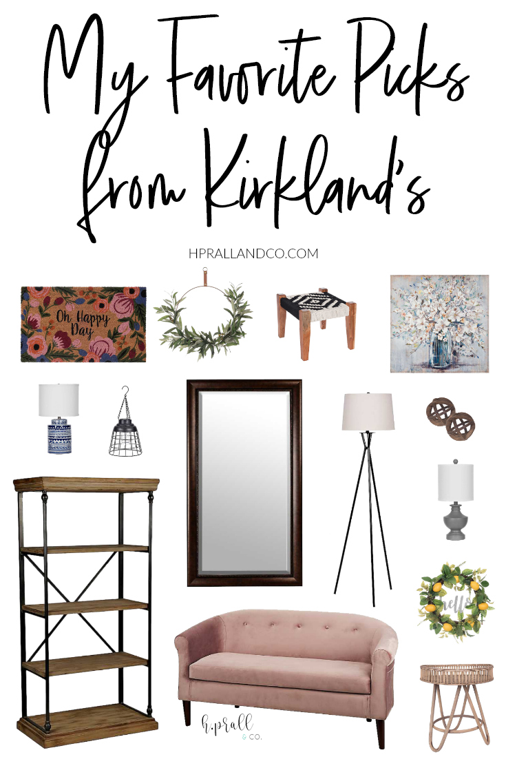 I'm sharing my favorite picks from Kirkland's over at hprallandco.com! | H.Prall and Co. Interior Decorating