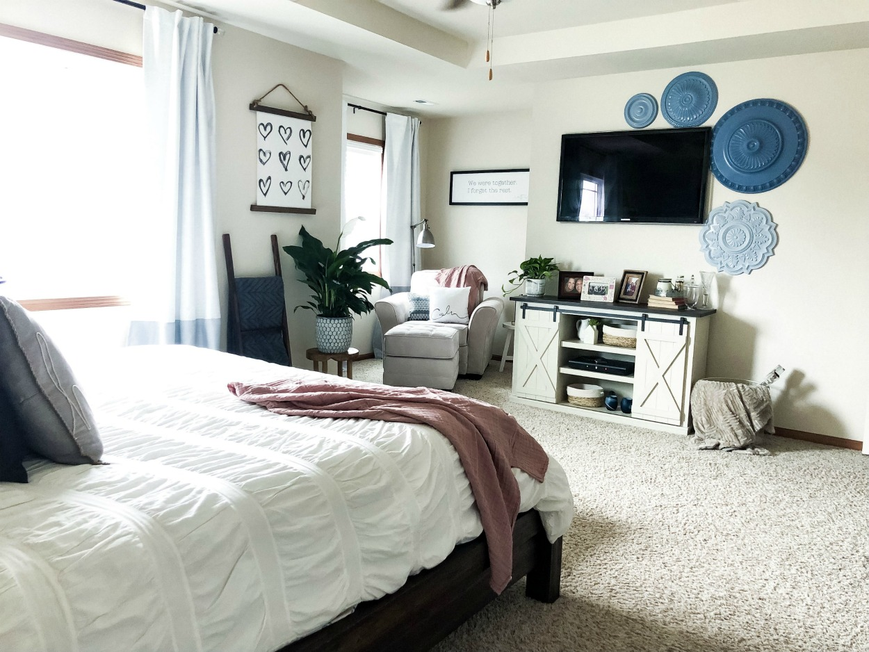 Master Bedroom Retreat--Makeover Reveal | H.Prall & Co.