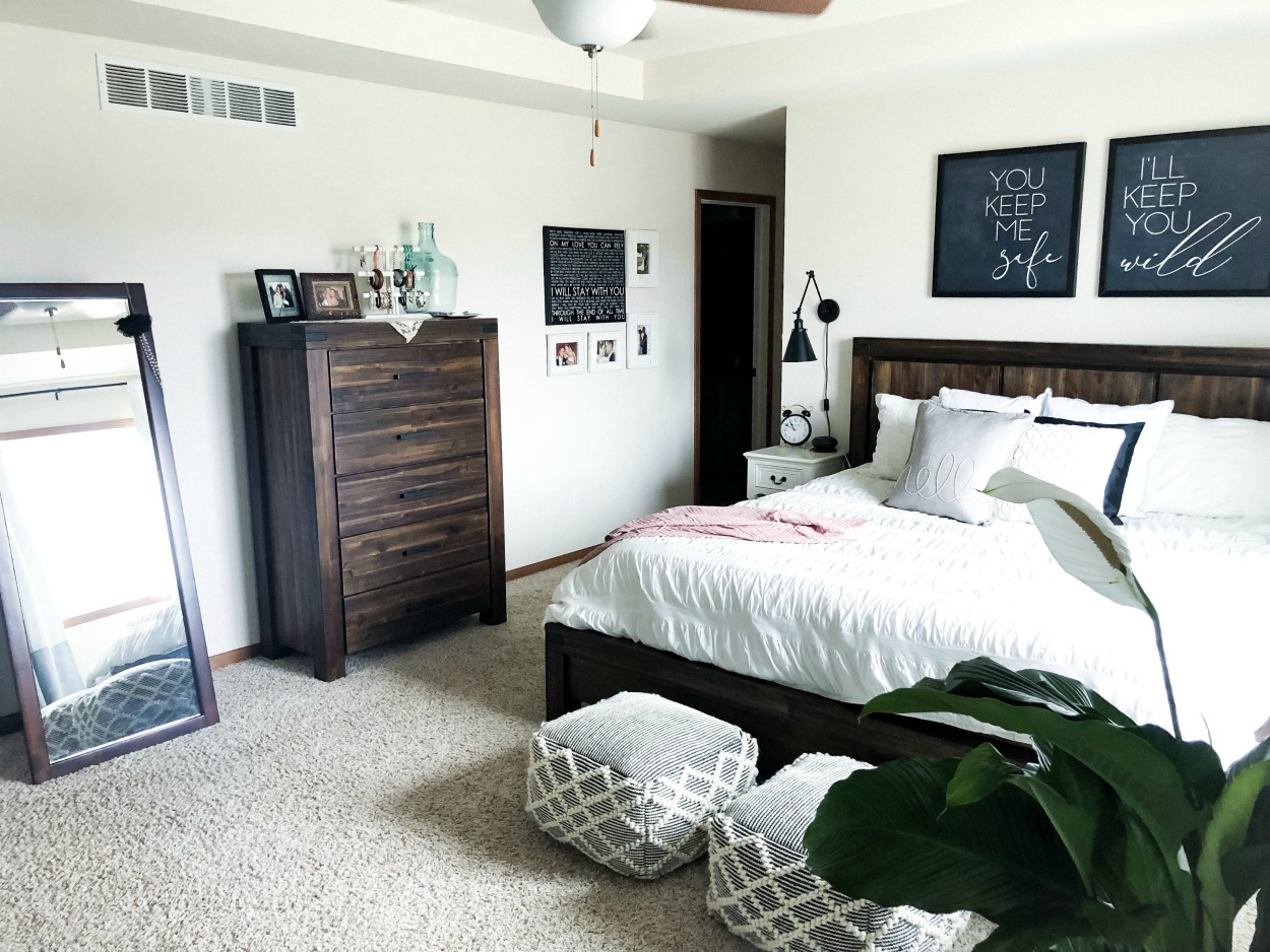 Master Bedroom Retreat-Makeover Reveal from hprallandco.com | H.Prall & Co. Interior Decorating