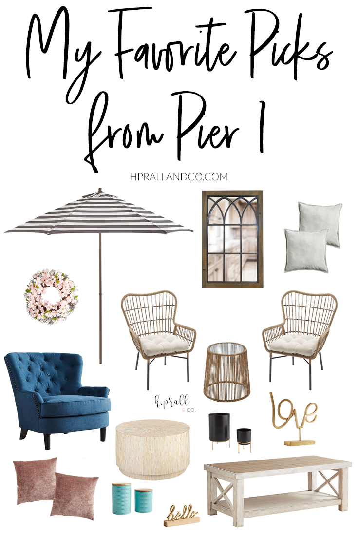 I'm sharing my favorite picks from Pier 1 over at hprallandco.com! | H.Prall and Co. Interior Decorating