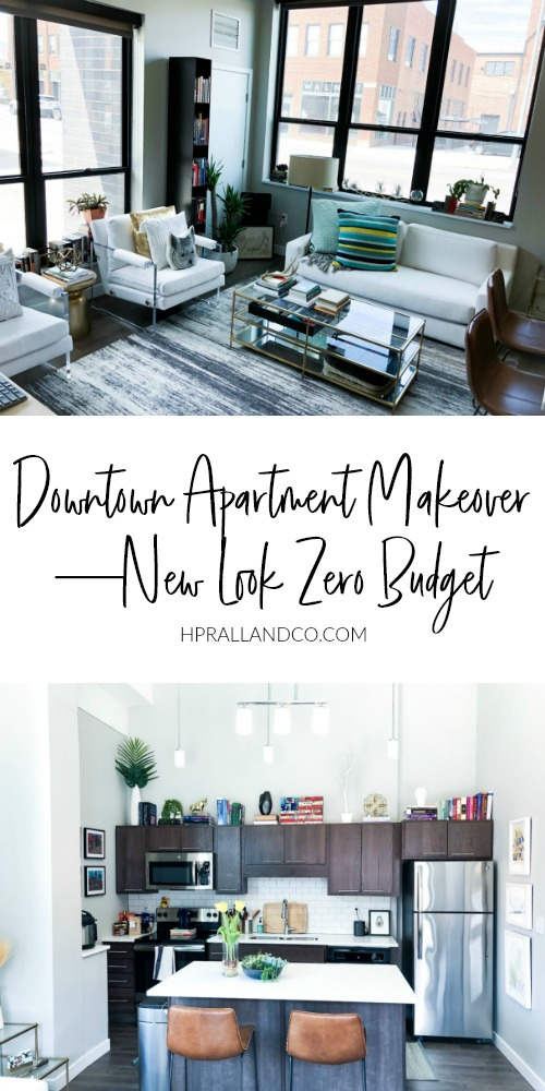 Downtown Apartment Makeover—New Look Zero Budget from hprallandco.com | H.Prall & Co. Interior Decorating + E-Design