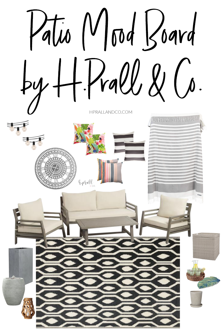 Patio Mood Board design by hprallandco.com! | H.Prall and Co. Interior Decorating