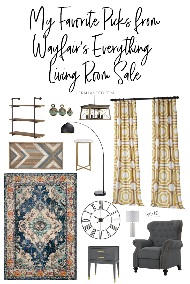 I'm sharing my favorite picks from Wayfair's Everything Living Room Sale over at hprallandco.com! | H.Prall and Co. Interior Decorating